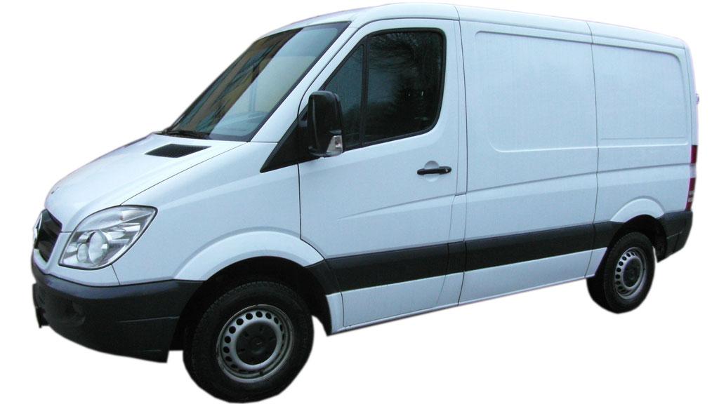 Wynajem Samochodów Dostawczych Poznań - MB Sprinter 209 2.2CDI krótki, niski