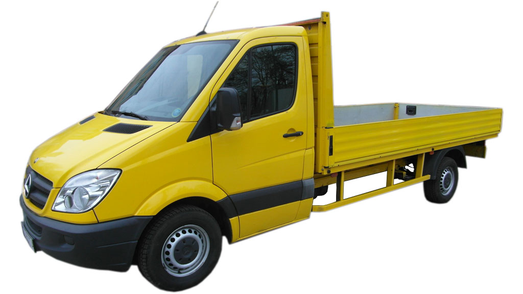 Wynajem samochodów dostawczych Poznań MB Sprinter 313 2.2 CDI otwarty
