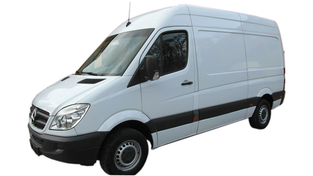 Wypożyczalnia samochodów dostawczych Poznań MB Sprinter 311 2.2 CDI średni wysoki