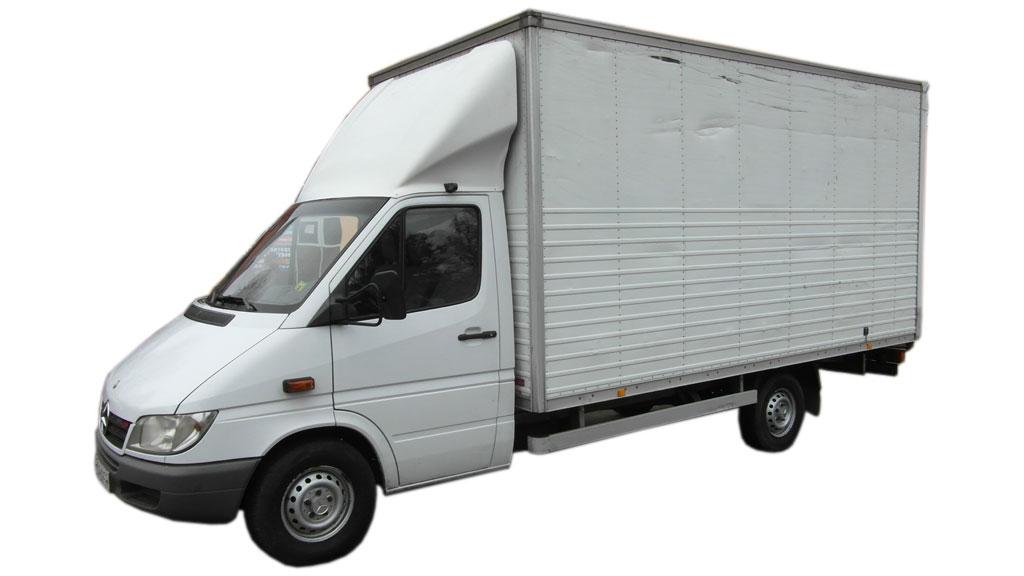 Wynajem busów Poznań MB Sprinter 313 2.2 CDI kontener (do 2006)