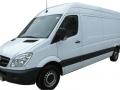 Wypożyczalnia samochodów dostawczych Poznań MB Sprinter 311 maxi