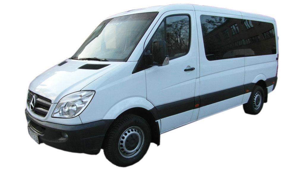 Wynajem Busów Osobowych Poznań - MB Sprinter 313 2.2 CDI średni (8-9 os.)