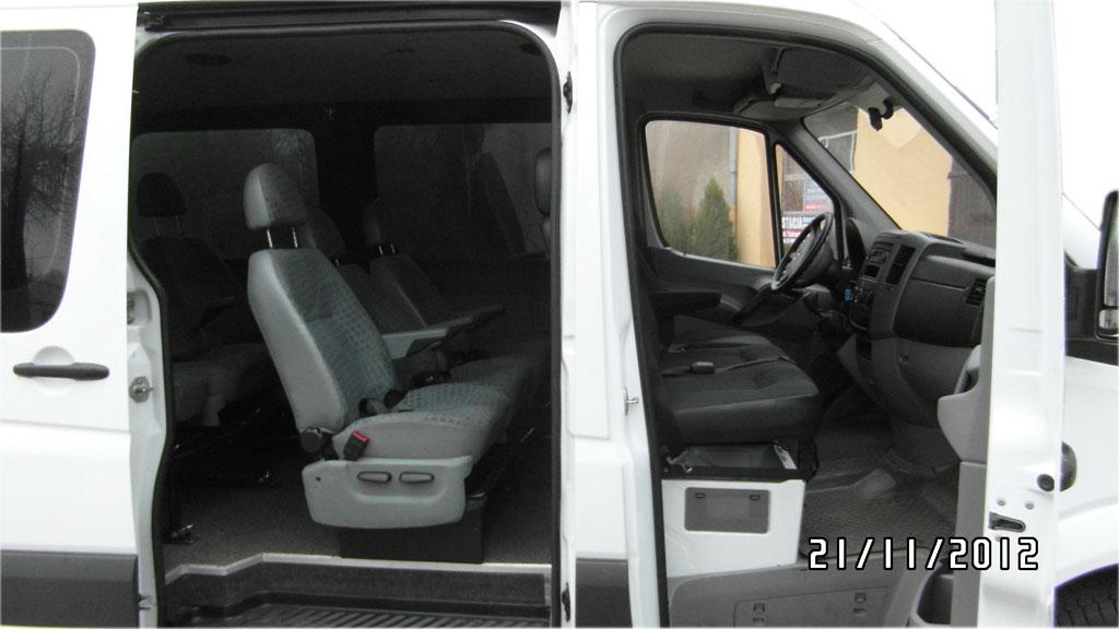 Wynajem Busów Osobowych Poznań - MB Sprinter 310 2.2 CDI krótki (9 os.)-9os_5